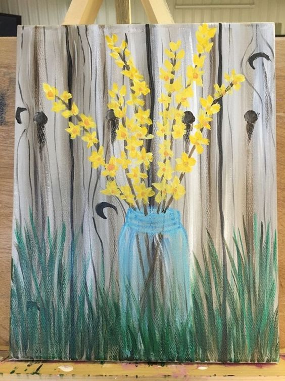 37 Easy Canvas Painting Ideas You Can DIY - Page 8 of 37 ...