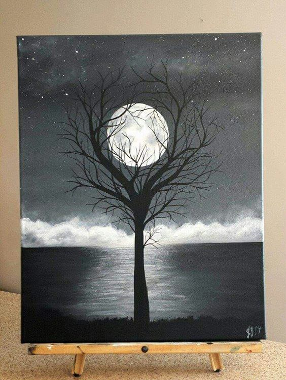37 Easy Canvas Painting Ideas You Can Diy Page 18 Of Vimdecor