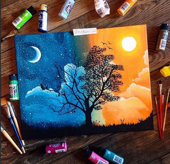 37 Easy Canvas Painting Ideas You Can Diy Page 20 Of 37 Vimdecor