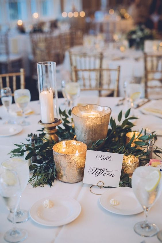 wedding candle centerpieces; romantic candle centerpieces; floating candles; diy wedding candle.