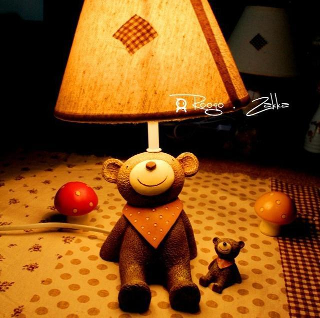 How can a small night light in a warm home?