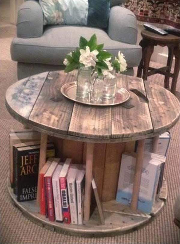 People who want to read are never worried that they can't put down the bookshelf at home.
