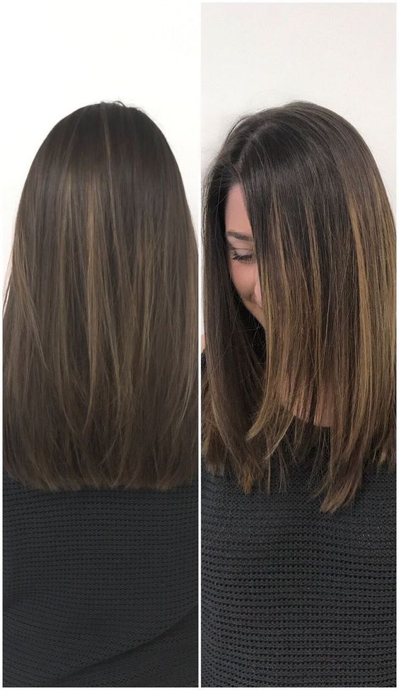 30 Straight Medium Length Haircuts And Colors For Women In