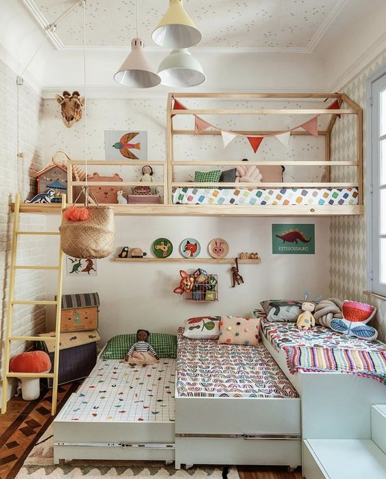 52 Wonderful Shared Kids Room Ideas For Boys And Girls Page 9 Of 52 Vimdecor