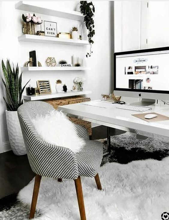 35 Black And White Decorating Ideas For Home Office Designs Page 25 Of 37 Vimdecor