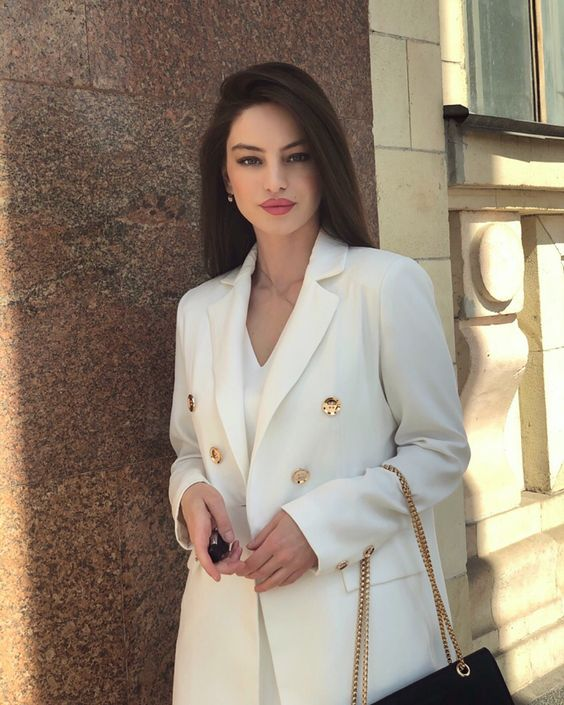 43 Office Outfits Highlight the Independent Side of Women suit, work outfits, office, handsome, work